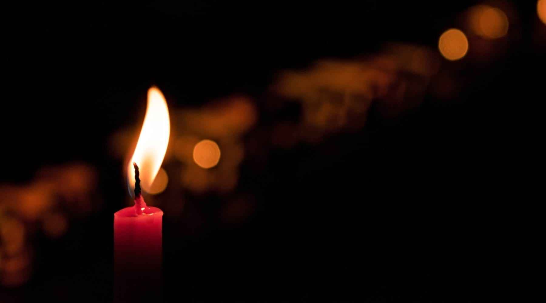 candle-red