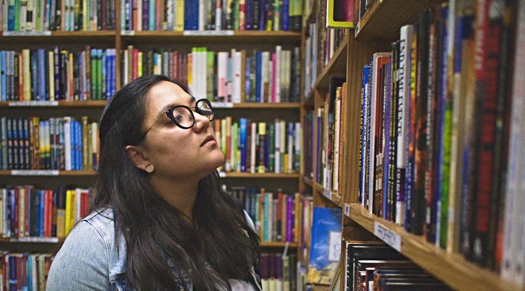 books-woman