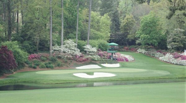 A view of Augusta National Golf Club