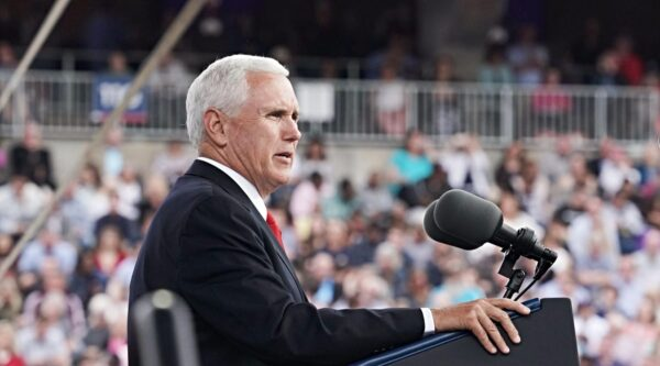 Vice President Mike Pence at Liberty University commencement