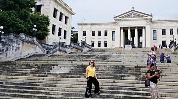 Elizabeth-Anne Nordgren Lovell in Cuba