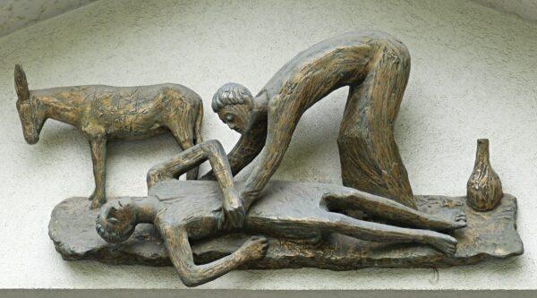 Artwork of Good Samaritan