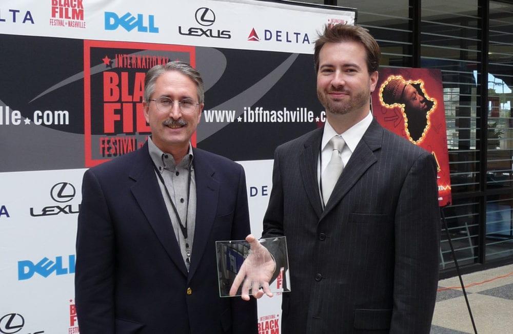 Robert Parham (1953-2017) and Cliff Vaughn of EthicsDaily.com.
