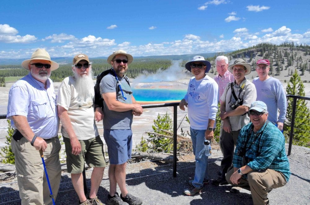Nurturing Faith Jesus Worldview Initiative gathering in Yellowstone.