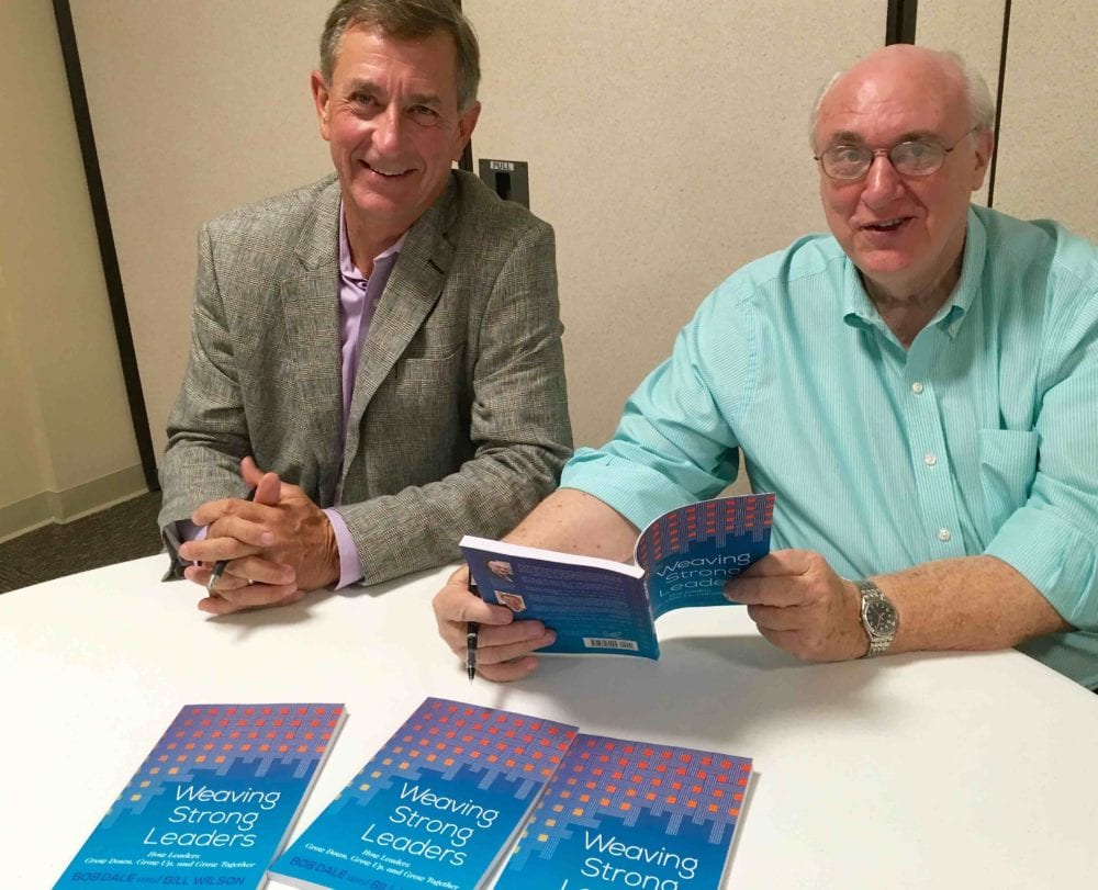 Nurturing Faith book authors: Bill Wilson (left) and Bob Dale (right).