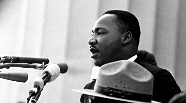 Martin Luther King Jr. gives 'I Have a Dream' speech