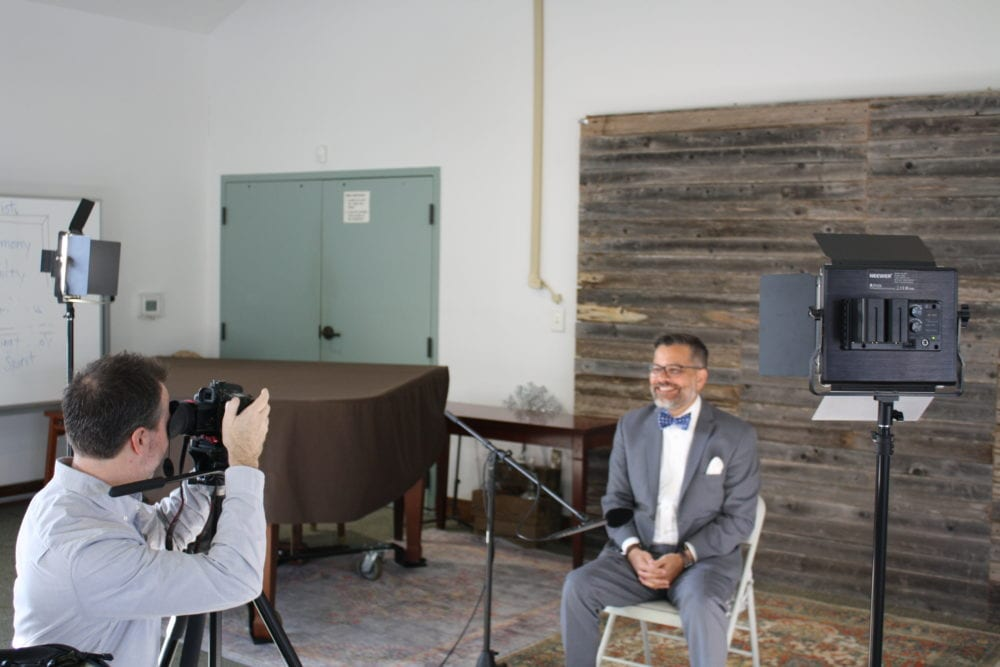 Cliff Vaughn interviews Mitch Randall.