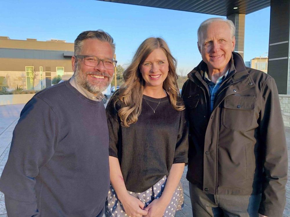 Mitch Randall, Autumn Lockett and John Pierce: GFM's Executive Leadership Team.