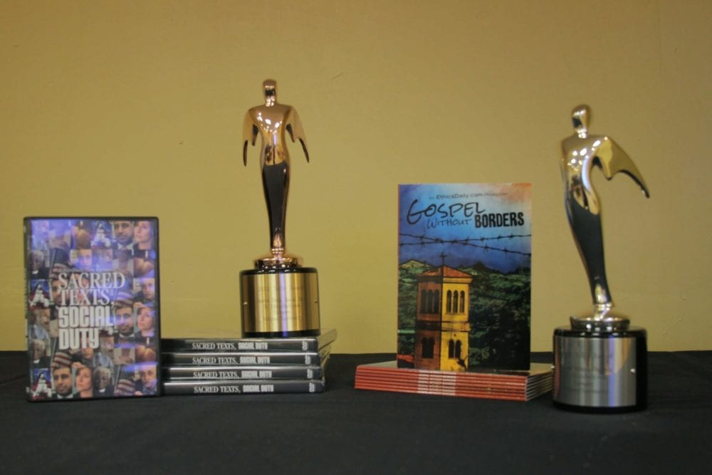 Awards for two EthicsDaily.com documentaries.