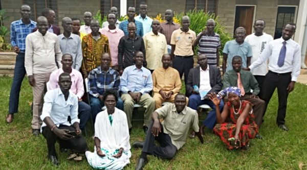 Members of Baptist Convention of South Sudan constitutional review committee